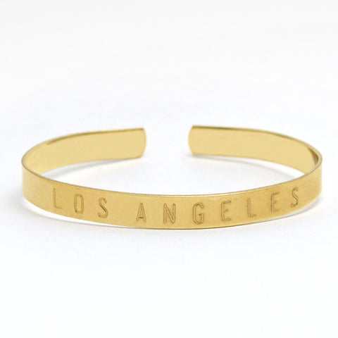 Los Angeles Adjustable Cuff Bangle