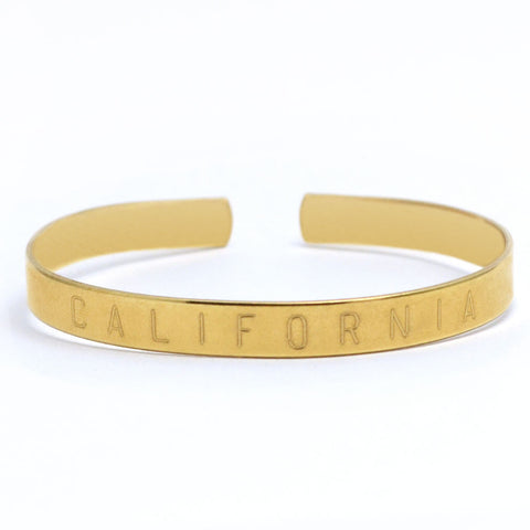 California Adjustable Cuff Bangle