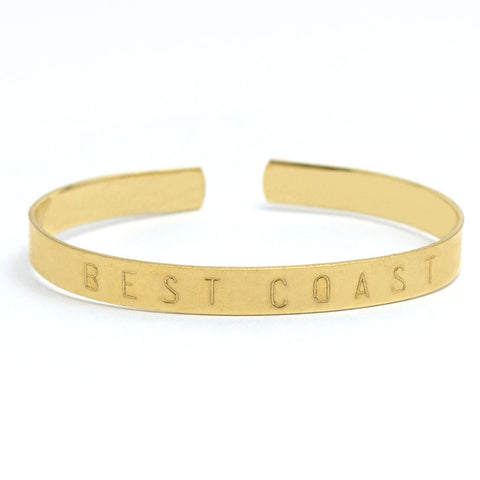Best Coast Adjustable Cuff Bangle