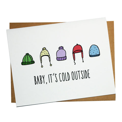 Beanie Weather Greeting Card