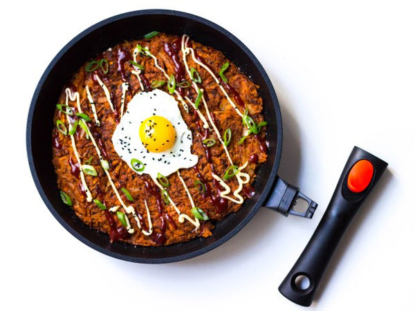 Korean Sweet Potato Pancake