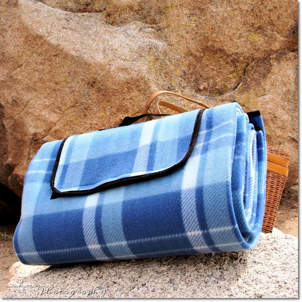 Waterproof Foldable Fleece Picnic Blanket