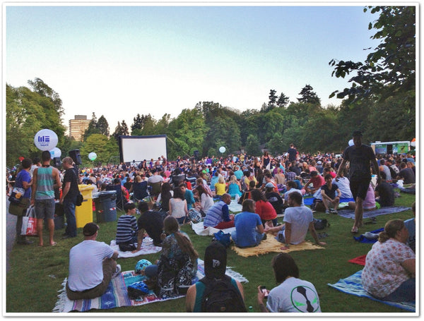 Outdoor Movie Buffs Picnic