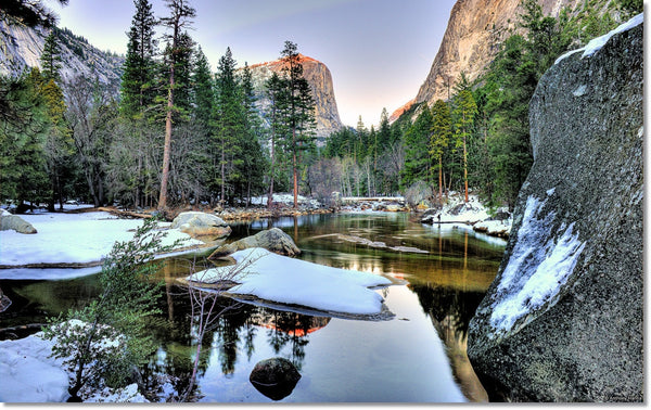 yosemite winter camping