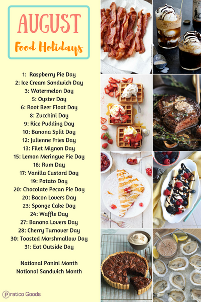 August food holidays