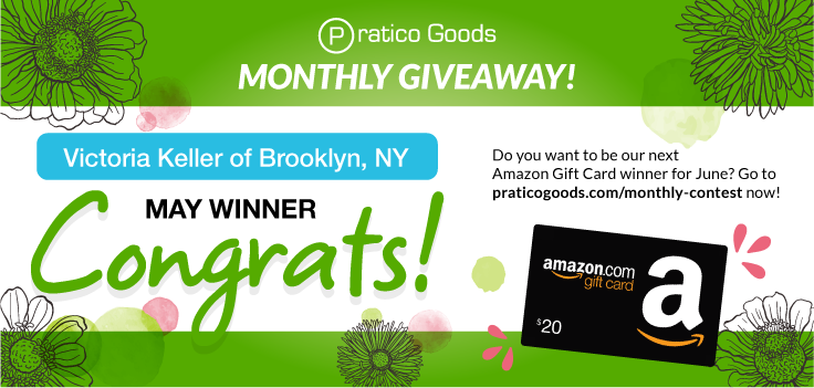 Congratulations to Our May $20 Amazon Gift Card Contest Winner