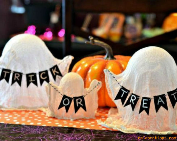 Cheesecloth Ghosts by Celebrations
