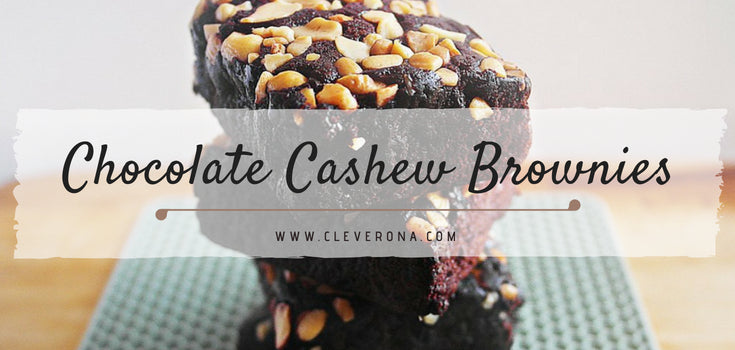 Chocolate Cashew Brownies