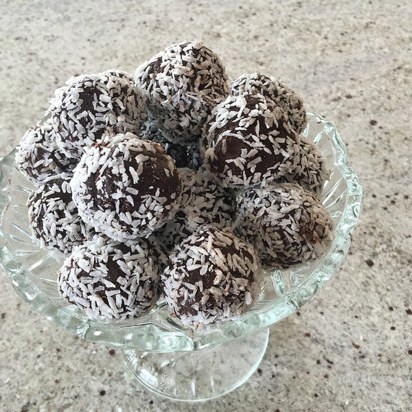 Crunchy Chocolate Mint Balls