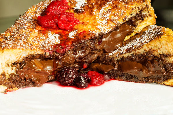 Nutella & Dark Chocolate French Toast