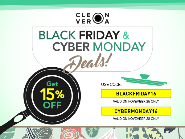 Cleverona Black Friday and Cyber Monday Deals