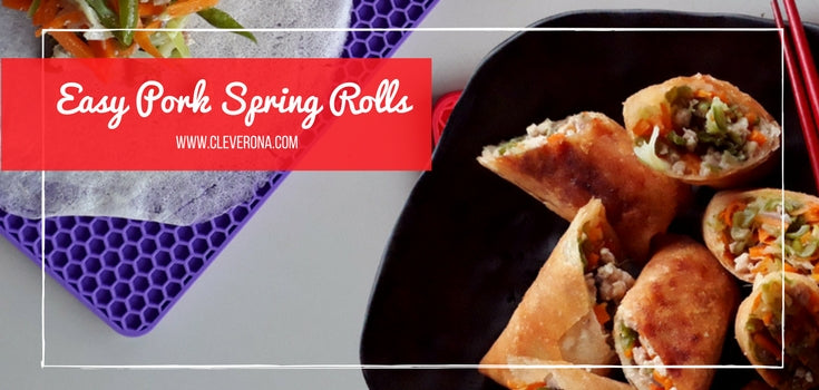 Easy Pork Spring Roll Recipe