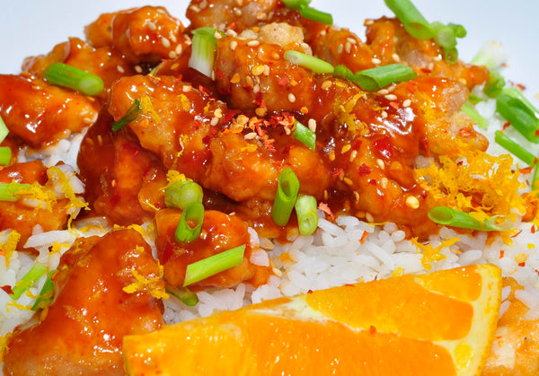 Easy Orange Chicken from Flickr