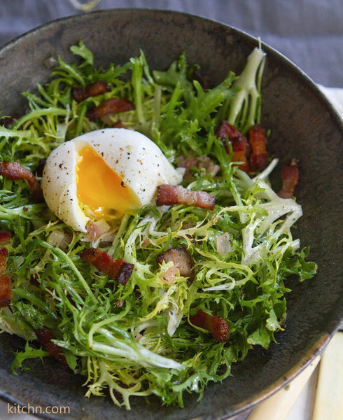 Egg Recipes for Easter Sunday - Lyonnaise Salad