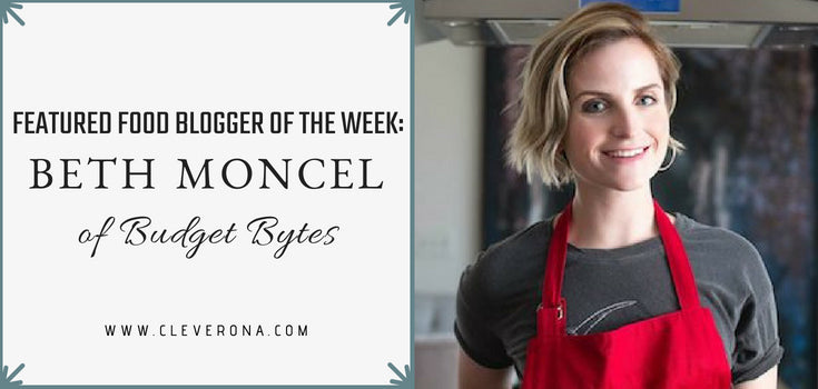 Featured Food Blogger of the Week: Beth Moncel of Budget Bytes