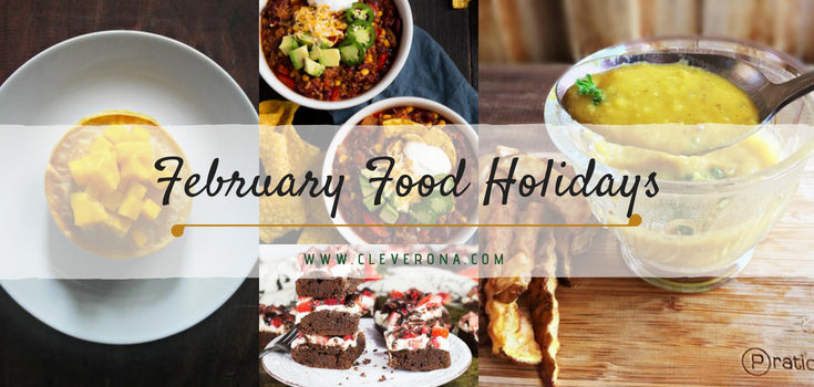 February Food Holidays