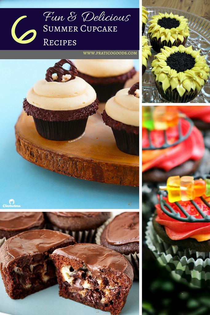 6 Fun and Delicious Summer Cupcake Recipes