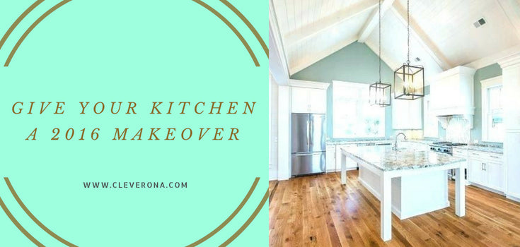 Give Your Kitchen a 2016 Makeover