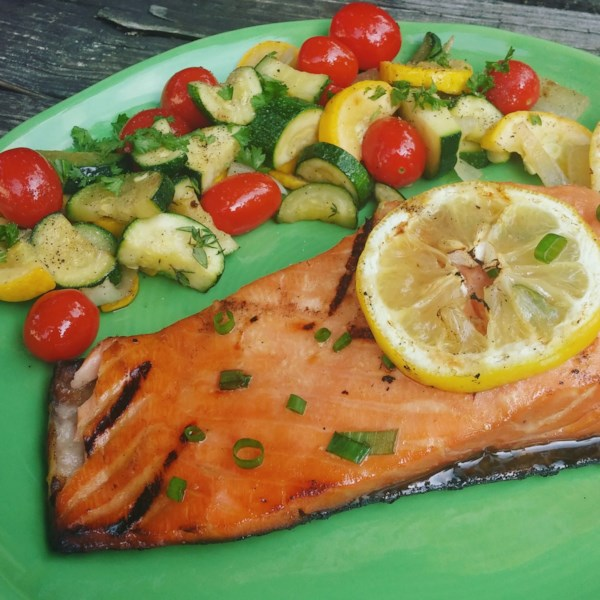 Honey Ginger Glazed Salmon by All Recipes