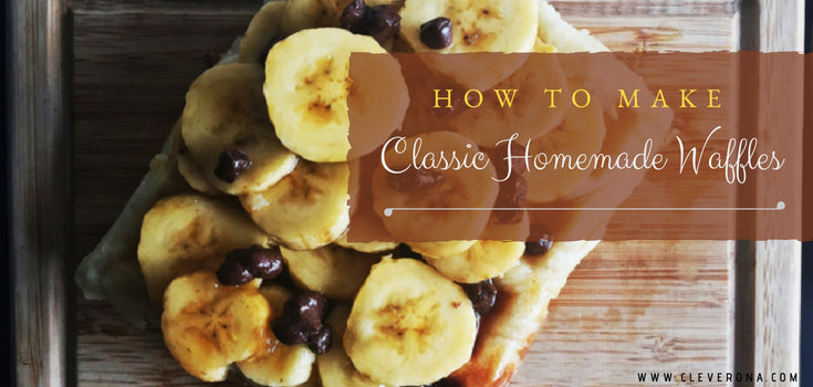 How to Make Classic Homemade Waffles