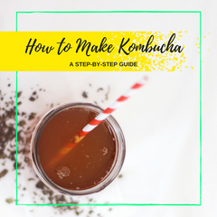 How to Make Kombucha: A Step-by-Step Guide