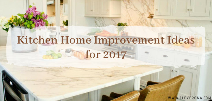 Kitchen Home Improvement Ideas for 2017