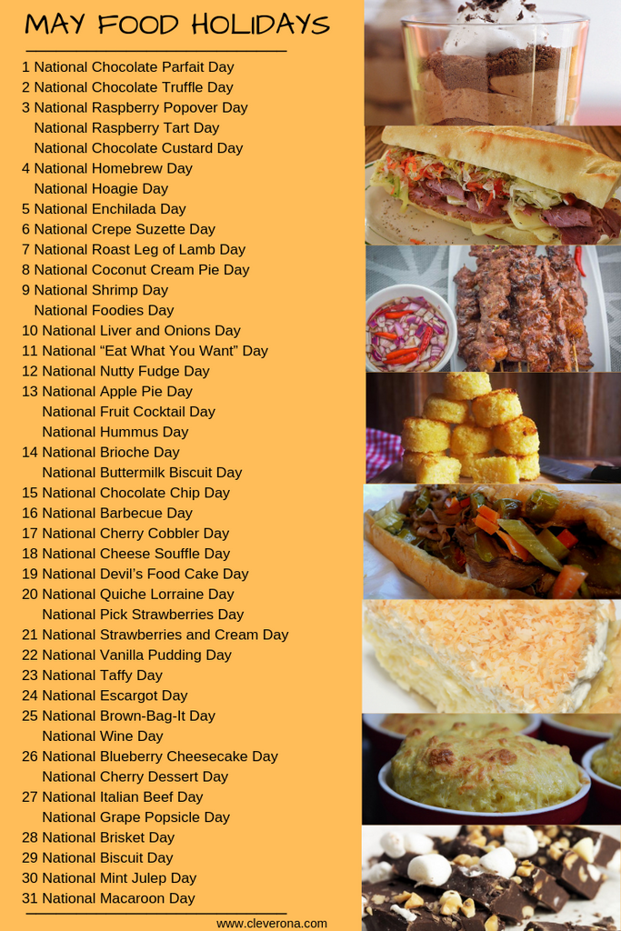 May food holiday graphic