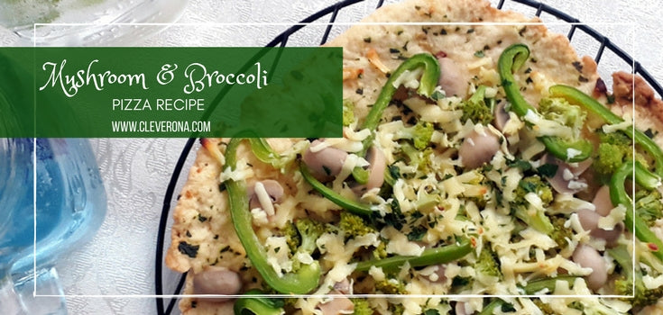 Mushroom and Broccoli Pizza Recipe