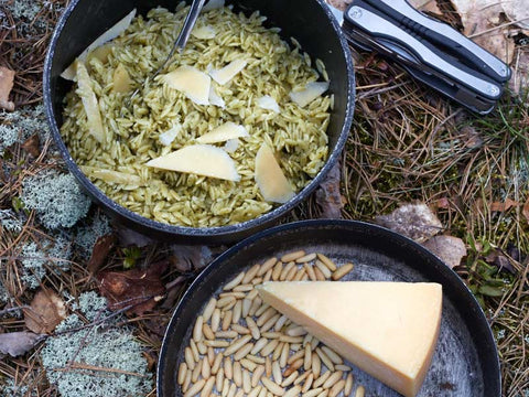 Orzo Al Pesto - Trail Recipes