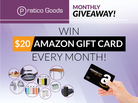 Win $20 Amazon Gift Card from Pratico Goods