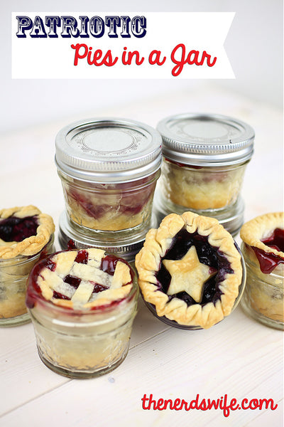 Patriotic Pie Ideas - Patriotic Pies in a Jar