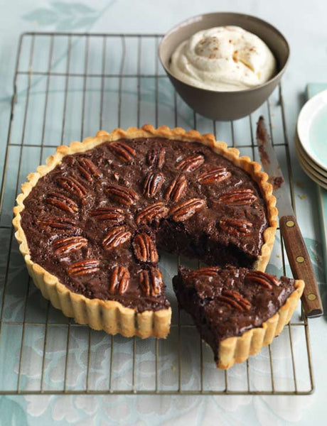Spiced Chocolate Pecan Pie