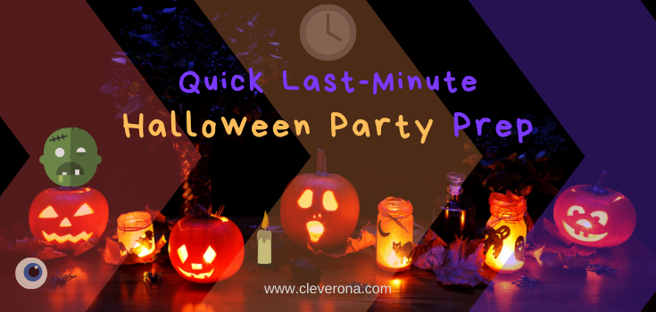 Quick Last-Minute Halloween Party Prep