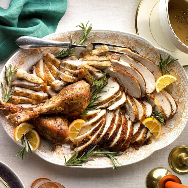 Roasted Citrus and Herb Turkey by Taste of Home