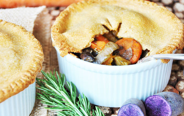 Root Vegetable Pot Pie by Veganosity