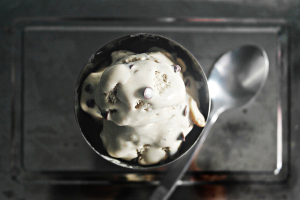 coffee cashew ice cream