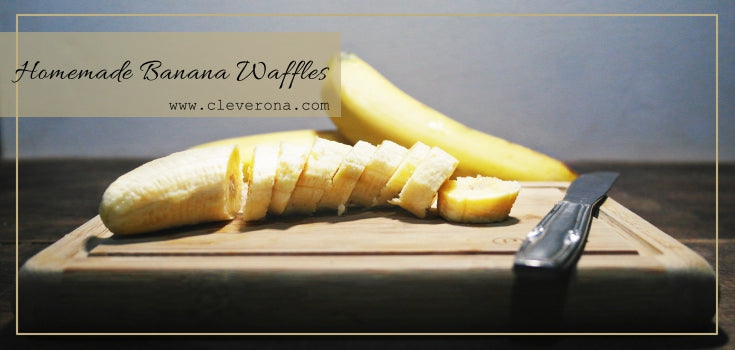 Homemade Banana Waffles