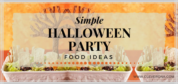 Simple Halloween Party Food Ideas
