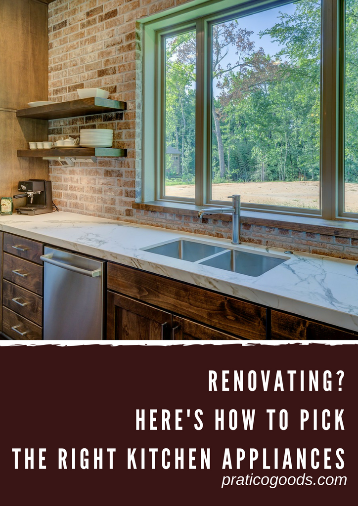 Renovating? Here's How to Pick the Right Kitchen Appliances