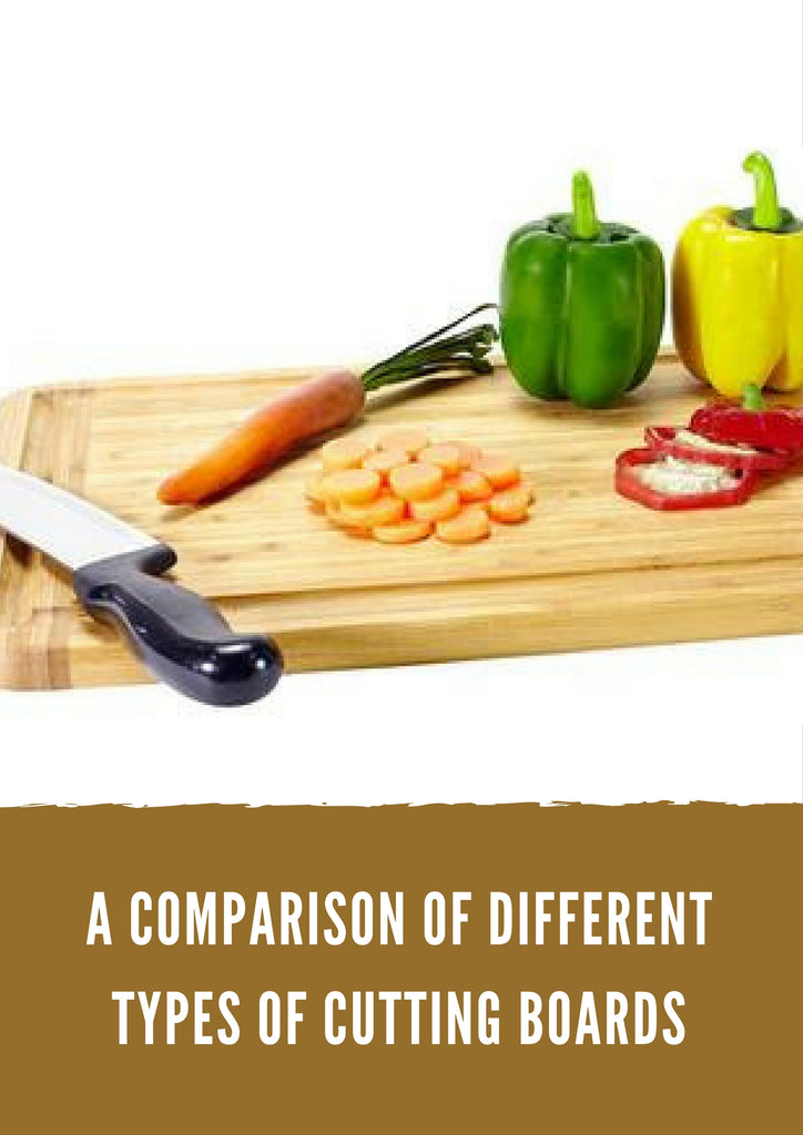 A Comparison of Different Types of Cutting Boards
