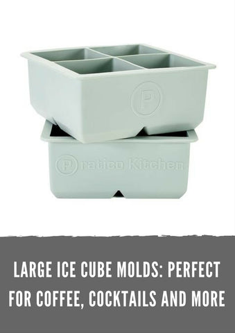 Large Ice Cube Molds: Perfect for Coffee, Cocktails and More