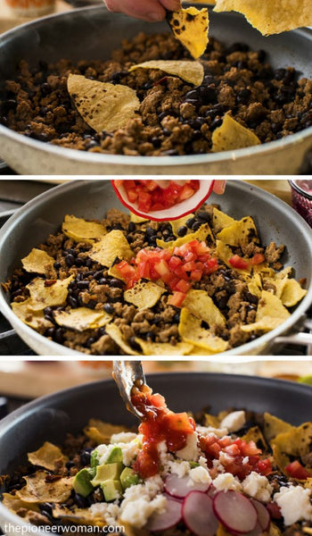 Taco Recipes - Turkey Taco Skillet