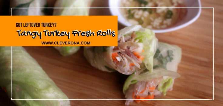 Tangy Turkey Fresh Rolls Recipe