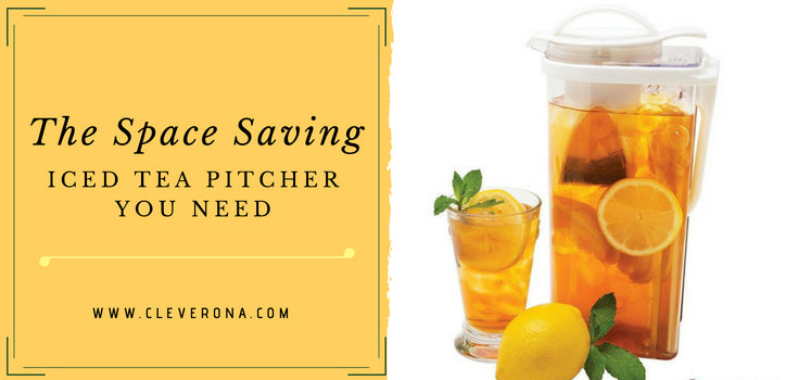 The Space Saving Iced Tea Pitcher You Need