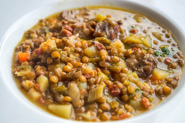 Veggie and Lentil Soup