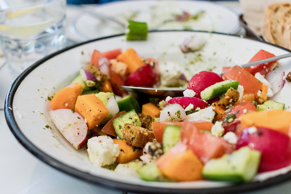 chopped autumn salad