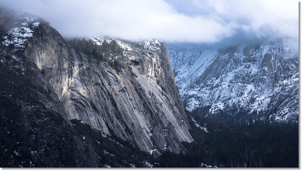 yosemite in winter