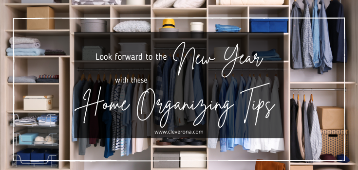 Look Forward to the New Year with these Home Organizing Tips