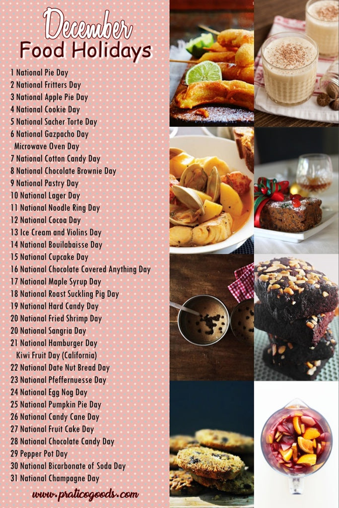 december food holidays