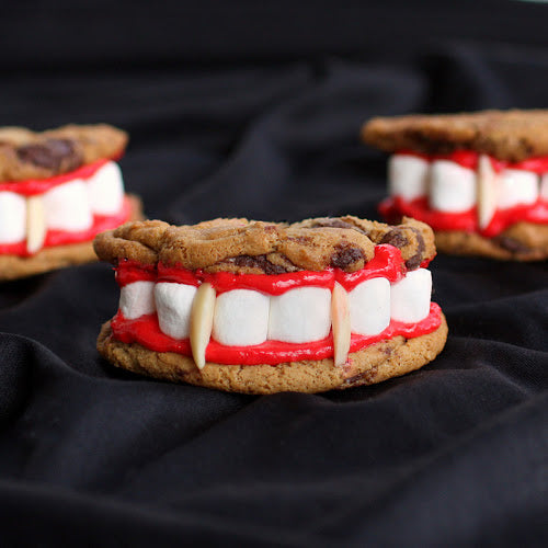 Dracula's Dentures for Halloween